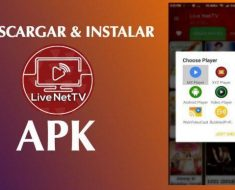 descargar instalar live net tv apk free android pc iphone ios